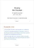 Bài giảng Điện Công Nghệ: Bài giảng 4 - TS. Nguyễn Quang Nam