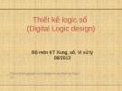 Bài giảng Thiết kế logic số (VLSI Design): Chương II/2.1