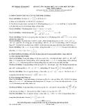 Đề thi thử ĐH môn Toán khối D lần 1 năm 2013-2014 - Sở GD & ĐT Vĩnh Phúc