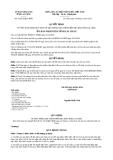 Quyết định 32/2013/QĐ-UBND tỉnh Lai Châu