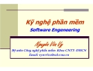 Bài giảng môn học Kỹ nghệ phần mềm: Bài 1 - PGS.TS. Nguyễn Văn Vỵ