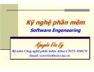 Bài giảng môn học Kỹ nghệ phần mềm: Bài 3 - PGS.TS. Nguyễn Văn Vỵ