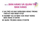 Bài giảng Quản trị kinh doanh thương mại: Bài 5 - PGS.TS. Nguyễn Thừa Lộc