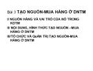 Bài giảng Quản trị kinh doanh thương mại: Bài 3 - PGS.TS. Nguyễn Thừa Lộc