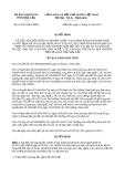 Quyết định 31/2013/QĐ-UBND tỉnh Đắk Lắk