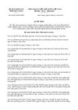 Quyết định 30/2013/QĐ-UBND tỉnh Kiên Giang