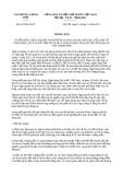 Thông báo 419/TB-VPCP năm 2013
