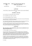 Quyết định số 2038/QĐ-TTg năm 2013