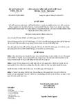 Quyết định số 58/2013/QĐ-UBND tỉnh Long An