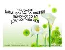 Bài giảng Tâm lý học 2: Chương 3 - GV Nguyễn Xuân Long