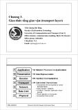Bài giảng Mạng máy tính và Internet: Chương 3 - Trần Quang Hải Bằng