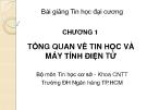 Bài giảng Tin học đại cương: Chương 1 - Ths. Nguyễn Thị Khiêm Hòa