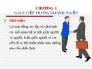 Bài giảng môn Quản trị doanh nghiệp: Chương 3 - ThS. Nguyễn Thị Hương (ĐH Công nghiệp TP.HCM)