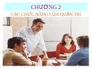 Bài giảng môn Quản trị doanh nghiệp: Chương 2 - ThS. Nguyễn Thị Hương (ĐH Công nghiệp TP.HCM)