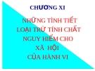 Bài giảng Luật Hình sự Việt Nam: Chương XI (tt) - ThS. Trần Đức Thìn