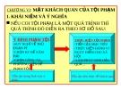 Bài giảng Luật Hình sự Việt Nam: Chương VI - ThS. Trần Đức Thìn