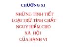 Bài giảng Luật Hình sự Việt Nam: Chương XI - ThS. Trần Đức Thìn
