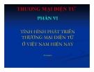 Bài giảng Thương mại điện tử: Phần 6 - Thái Thanh Sơn