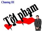 Bài giảng Luật Hình sự Việt Nam: Chương 3 - ThS. Trần Đức Thìn