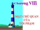 Bài giảng Luật Hình sự Việt Nam: Chương 8 - ThS. Trần Đức Thìn