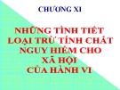 Bài giảng Luật Hình sự Việt Nam: Chương 11 - ThS. Trần Đức Thìn