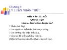 Bài giảng Triết học: Chương 8 - ĐH Ngân hàng TP.HCM