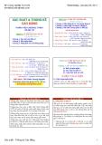 Bài giảng Xác suất và thống kê Cao đẳng - ĐH Công nghiệp TP.HCM