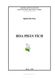 Hóa phân tích: Phần 1 - Nguyễn Xuân Trung