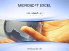 Bài giảng Microsoft excel - Võ Hà Quang Định