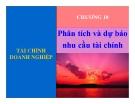 Bài giảng Tài chính doanh nghiệp: Chương 10 - Nguyễn Thị Hà