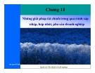Bài giảng Tài chính doanh nghiệp: Chương 11 - Nguyễn Thị Hà