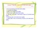 Bài giảng Tài chính doanh nghiệp: Chương 1 - Nguyễn Thị Hà