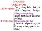 Bài giảng Hóa đại cương 2 - ĐH Nông Lâm TP.HCM