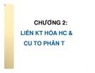 Bài giảng môn Hóa Đại Cương: Chương II -  Nguyễn Văn Hiền