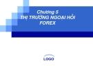 Bài giảng Tài chính quốc tế: Chương 5 - ThS. Đỗ Thị Thu Thủy