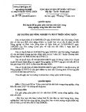 Quyết định Số: 3119/QĐ-BNN-KHCN