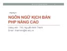 Bài giảng Mã nguồn mở: Chương 5 - ThS. Nguyễn Minh Thành