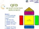 Thuyết trình: Quản trị chất lượng QFD