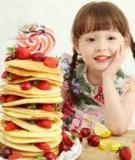 Bài giảng Dinh dưỡng trẻ em: Dinh dưỡng của trẻ em dưới 1 tuổi và trên 1 tuổi