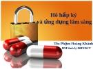 Bài giảng Hô hấp ký và ứng dụng lâm sàng (1) - ThS. Phạm Hoàng Khánh
