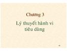 Bài giảng Kinh tế vi mô: Chương 3 - TS. Hạ Thị Thiều Dao