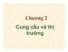Bài giảng Kinh tế vi mô: Chương 2 - TS. Hạ Thị Thiều Dao