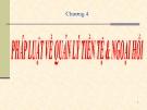 Bài giảng Luật Ngân hàng & Chứng khoán: Chương 4 - Nguyễn Từ Nhu