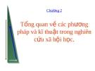 Bài giảng Xã hội học đại cương: Chương 2 - ThS. Đỗ Hồng Quân