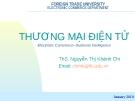 Bài giảng Thương mại điện tử: Chapter 1 - ThS. Nguyễn Thị Khánh Chi