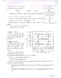 Đề thi môn kỹ thuật điện công trình - ĐH Dân Lập Văn Lang