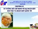 Bài giảng Tư tưởng Hồ Chí Minh: Chương 5 - CĐ CNTT Hữu nghị Việt Hàn