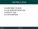 Bài giảng Lập trình Web: Chương 4 - Ths. Trần Phi Hảo