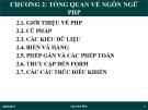 Bài giảng Lập trình Web: Chương 2 - Ths. Trần Phi Hảo