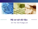 Bài giảng Hệ cơ sở dữ liệu: Chương 4 - ThS. Trịnh Thị Ngọc Linh